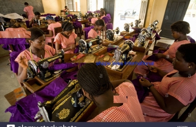 Empowering Less Privileged Girls  and Women  in entrepreneurial and vocational skills training in Ghana